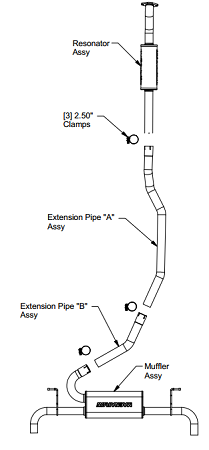 1990 ford f150 exhaust system diagram 08 f150 exhaust diagram