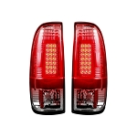 2008-2015 Ford Superduty F250HD/350/450/550 LED TAIL LIGHTS - Clear Lens