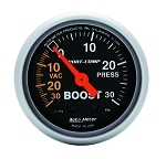 AutoMeter - Sport-Comp 52mm 30 PSI Mechanical Boost/Vac Gauge