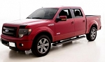 AVS Matte Black Low Profile Ventvisor / Aeroskin Hood Protector Combination 2015 Ford F150