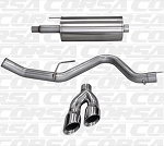 "2015 Ford F-150 V8 5.0L 3.0"" Corsa Cat-Back Single Side Exit with Twin 4.0"" Tips (Polished or Black)"