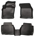 Husky Liners WeatherBeater Front & 2nd Seat Floor Liners for 2013-2016 Ford Fusion