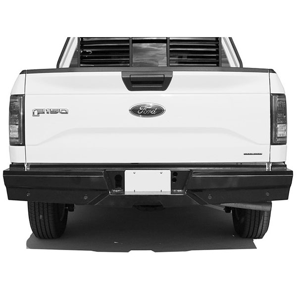 Steelcraft hd elevation rear bumper for 2015 2016 ford f for What is rear elevation