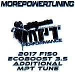 Additional MPT Tunes for 2017 Ford F150 Ecoboost 3.5L w/ nGauge Programmers