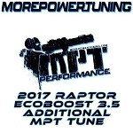 Additional MPT Tunes for 2017 Ford Raptor Ecoboost 3.5L w/ nGauge Programmers
