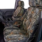 Covercraft Custom True Timber Camo Seat Covers (First Row, Bucket) for 2015-2017 Ford F-150