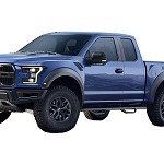 N-FAB Wheel to Wheel Nerf Steps (SuperCab) for 2017 Ford Raptor F1885QCR
