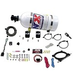 F150 and Mustang 5.0L V8 Coyote - Nitrous Express High Output Plate System w/ 10lb Bottle - 20951-10