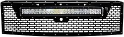 Rigid Industries Black Powder-Coated Grille with 30