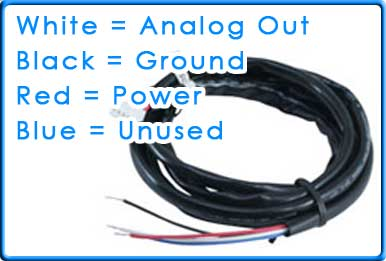 How to wire AEM UEGO 30-4100 to SCT Tuner using Analog Cable 9608