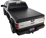 "2009-2014 Ford F150 - TruXedo LoPro QT - Soft Roll-up Tonneau Cover for 5.5"", 6.5"" beds and 6.5"" bed w/ Track System"