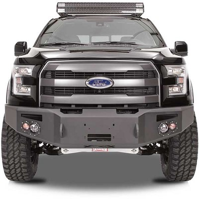 Fab Fours Premium Front Bumper For 2015 2016 Ford F 150