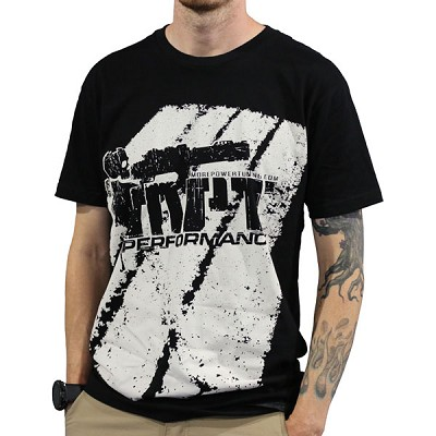 2017 MorePowerTuning / MPT Performance White Street MPT Logo, Black T-Shirt