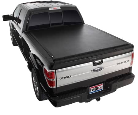 2009-2014 Ford F150 - TruXedo LoPro QT - Soft Roll-up Tonneau Cover for 5.5', 6.5' beds and 6.5' bed w/ Track System