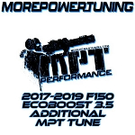 Additional MPT Tunes for 2017-19 Ford F150 Ecoboost 3.5L w/ nGauge Programmers