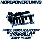 Additional MPT Tunes for 2017-19 Ford Raptor Ecoboost 3.5L w/ nGauge Programmers