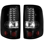 2004-2008 Ford F-150 RECON Smoked/Black LED Tail Lights