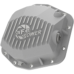 aFe Power Street Series Rear Differential Cover Raw w/Machined Fins for 2019 Ford Ranger 2.3L Ecoboost