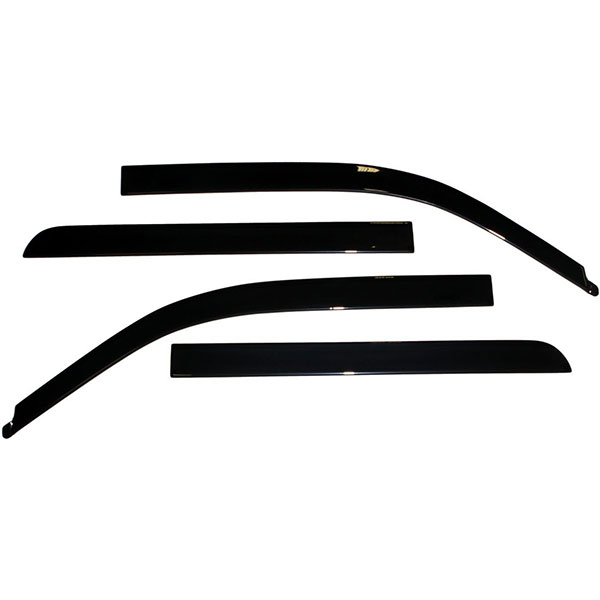 AVS Low-Profile Ventvisor 4PC 2004-2014 Ford F150 SuperCab Window Deflectors (Smoke)