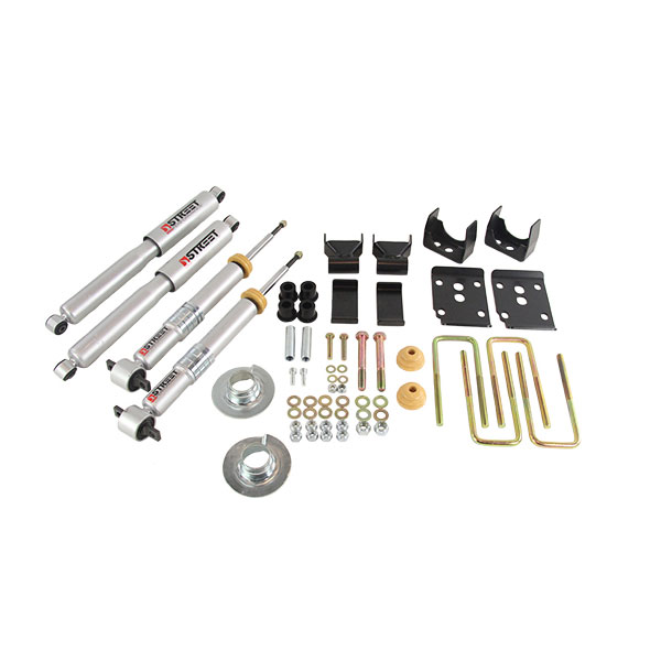 Belltech Lowering Kit with Street Performance Shocks for 2015-2020 Ford F-150 2WD - 1000SP