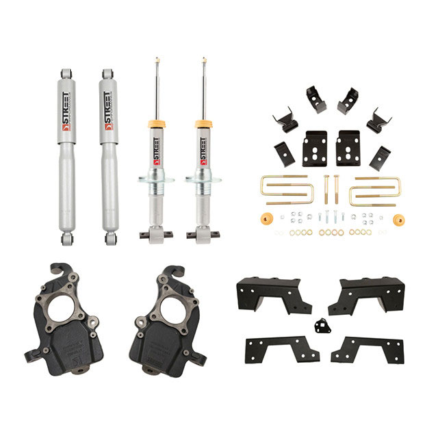 Belltech Street Performance Lowering Kit for 2015-2020 2WD Ford F-150