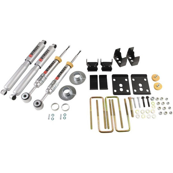 2009-2013 Ford F-150 2WD Belltech Lowering Kit with Street Performance Shocks