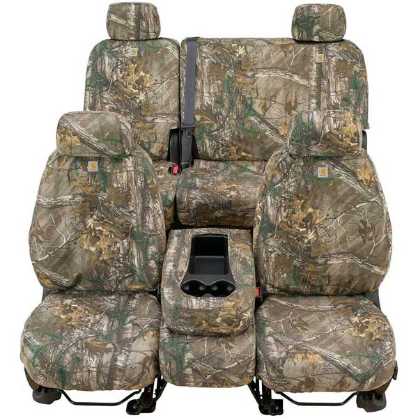 Covercraft Carhartt Custom Realtree Camo Seat Covers (Third Row) for 2007-2016 Ford Expedition