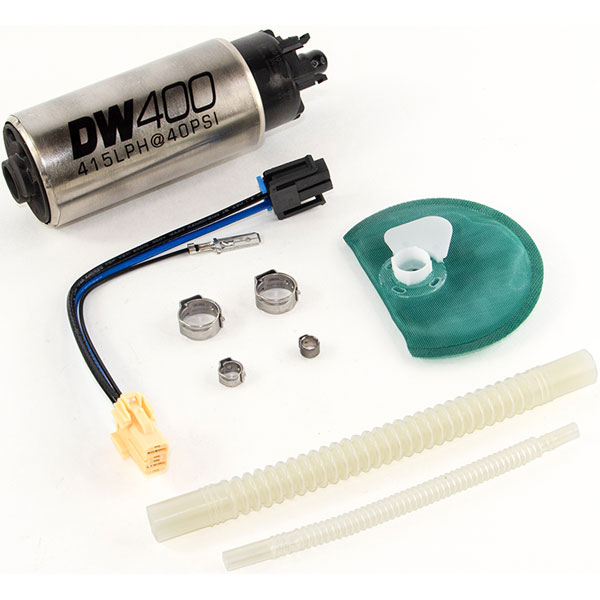 DeatschWerks DW400 Series Fuel Pump Fitment Kit w/ Venturi Outlet for  2015-2017 Ford Mustang and 2009-2018 Ford F-150