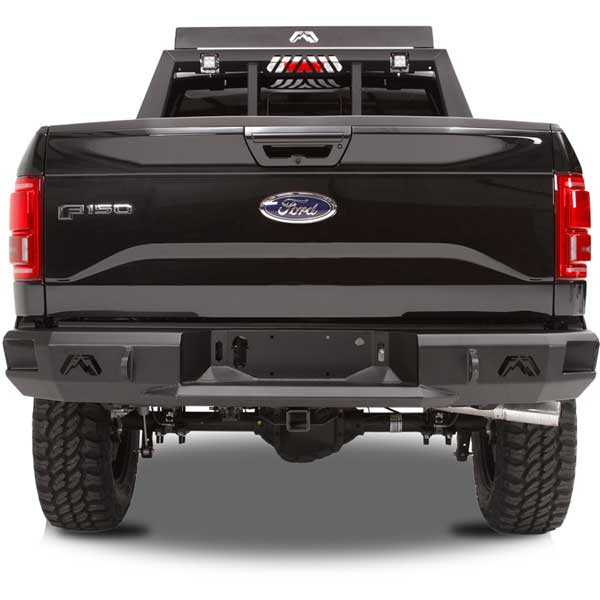 Fab Fours Premium Rear Bumper For 2015 2016 Ford F 150