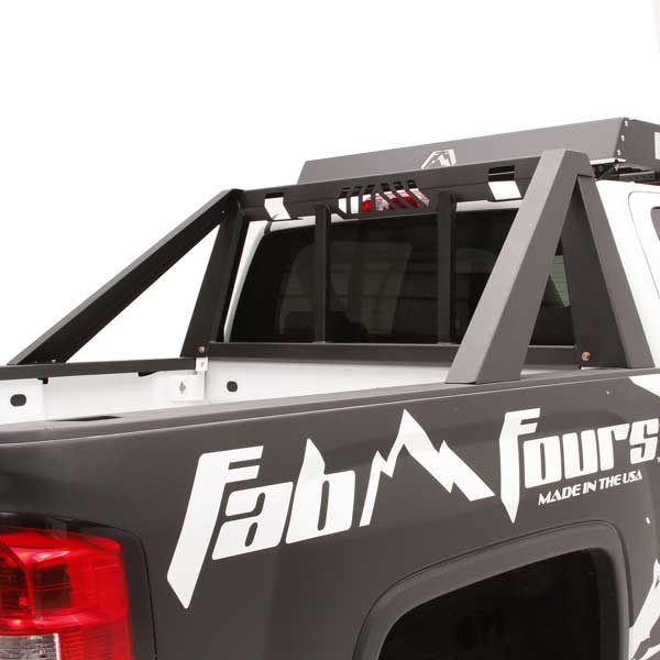 Ford F150 Rack >> Fab Fours Headache Rack For 2009 2016 Ford F 150