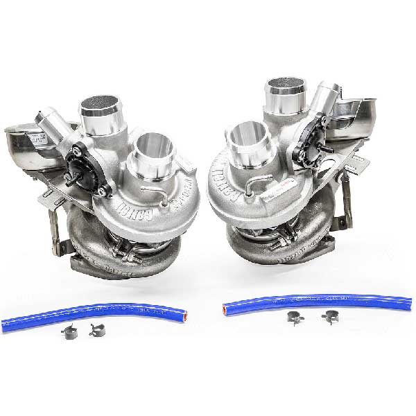 Garrett Power Max Bolt On Twin Turbo Upgrade for 2011-2016 Ford F-150 3.5L Ecoboost