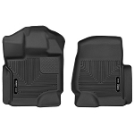 2015-2017 Ford F150  -  Husky Liners - X-Act Contour Front Floor Liner Mats Black