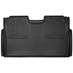 2015-2017 Ford F150 SuperCrew Cab -  Husky Liners - X-Act Contour Second Seat Liner Mats Black (Full Coverage)