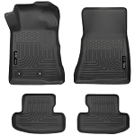 Husky Liners WeatherBeater Front and 2nd Seat Liners for 2015-2017 Ford Mustang