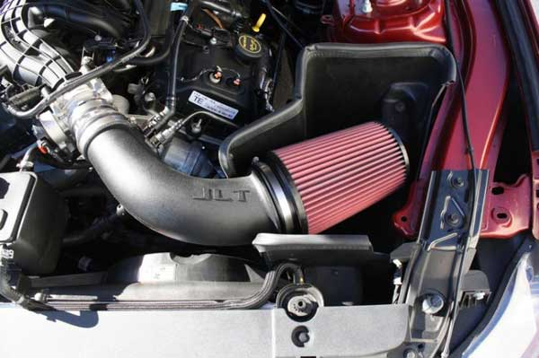 Heat Shield Cold Air intake Kit /& filter For 2011-2014 Ford Mustang 3.7L V6