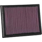 K&N 33-3086 Air Filter for 2019 Ford Ranger 2.3L Ecoboost