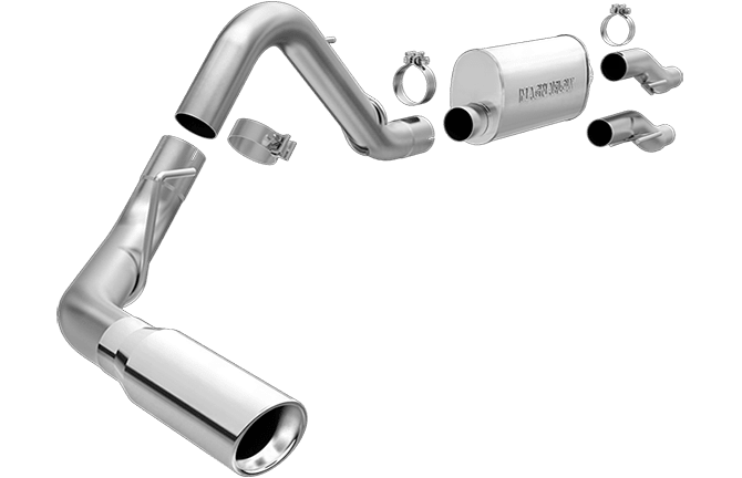 20112014 F150 Magnaflow 25 Stainless Steel Cat Back Single Rear Side Exit Exhaust: 2013 F150 Magnaflow Exhaust At Woreks.co