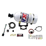 F150 and Mustang 5.0L V8 Coyote - Nitrous Express Plate System (35-200hp) w/ 10lb Bottle