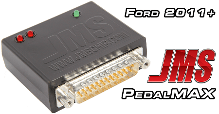 JMS Pedal Max - Increase Throttle Response Plug and Play 2011-2020 Ford Vehicles