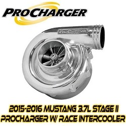 ProCharger Stage II Intercooled P-1SC-1 Tuner Kit 2015-2017 Mustang 3.7L