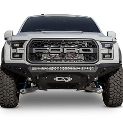Addictive Desert Designs Stealth Fighter Winch Front Bumper for 2017 Ford Raptor F111202860103
