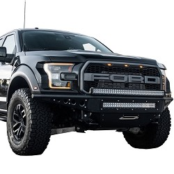 Addictive Desert Designs Venom R Winch Front Bumper for 2017 Ford Raptor F112502820103