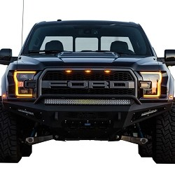 Addictive Desert Designs Honeybadger Front Bumper for 2017 Ford Raptor F117432860103