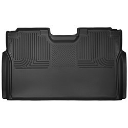 2015-2020 Ford F150 SuperCrew Cab -  Husky Liners - X-Act Contour Second Seat Liner Mats Black (Full Coverage)
