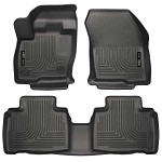 Husky Liners WeatherBeater Front and 2nd Seat Floor Liners for 2015-2016 Ford Edge