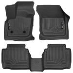 Husky Liners WeatherBeater Front and 2nd Seat Floor Liners for 2017 Ford Fusion