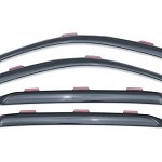 Lund Ventvisor Elite for 2013-2017 Ford Fusion Side Window Deflectors