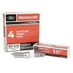 Ford Motorcraft Ecoboost Spark Plugs SP578 - CYFS-12Y-PT (Set of 6)
