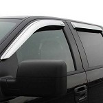 Stampede Tape-Onz Sidewind Deflectors for 2015-2020 Ford F-150