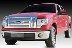 T-Rex Upper Class Polished Mesh Grille for 2009-2012 Ford F-150 Lariat / King Ranch